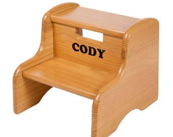 Little Colorado Wood Step Stool  sc 1 st  Etsy : jml folding plastic step stool - islam-shia.org
