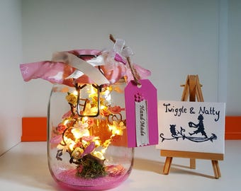 Little Bird Light Jar
