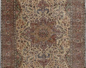 "4'6"" x 8'5"" Anadol Vintage Turkish Rug"