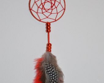 Small Red Dreamcatcher
