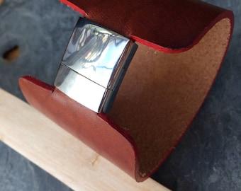 Leather Bracelet Cuff