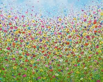 Daisy Dash Large Prints