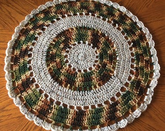 Beautiful round Table cover/Doily