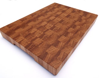 Oak End Grain Cutting Board. Different sizes Russian Oak endgrain cutting board, butcher block