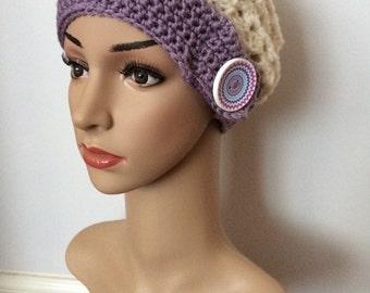 Handmade Crochet Slouchy Beanie Hat