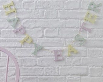 Easter Garland - Happy Easter Garland - Pastel
