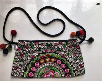 Handbag Bag  Purse  Handmade Wallet shoulder Embroidered