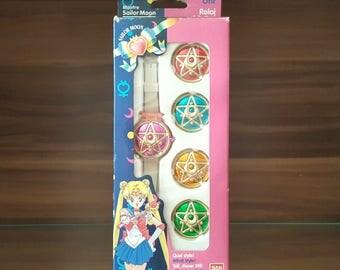 Sailor Moon Communicator Watch European Version Very Rare from 1992 / 1993