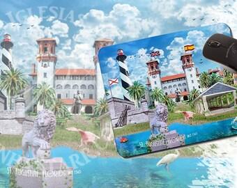 Saint Augustine Florida - Mouse Pad