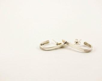 Hook Sterling Silver Earrings
