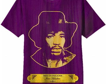 Golden Grain Tee | Jimi Hendrix