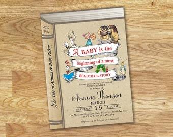 Storybook Baby Shower Invitation // DIGITAL ONLY