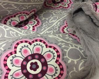 Baby Lovey; Minky Baby Lovey; Security Blanket; Minky Baby Blanket