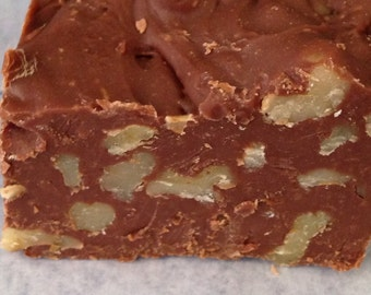 Fudge Chocolate Walnut  or Pecan 1/2lb