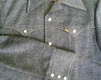 Vintage Lee Pearl Snap Button Jacket