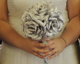 Music Note Flower Bouquet