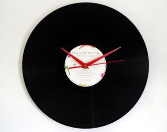 Chris De Burgh Vinyl Record Wall Clock