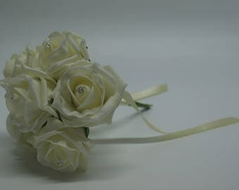 Wedding Posy - Perfect for Bridesmaids ( Lemon )