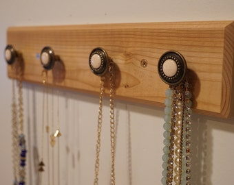 Knob Jewelry & Accessory Rack