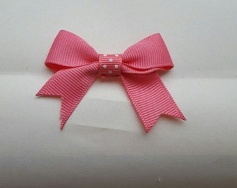 "2"" Bow with Tails"