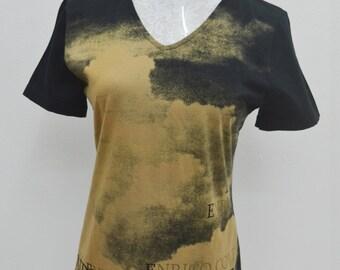 ENRICO COVERI Bandiera Made in Japan Women Tee T Shirt  Size L