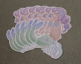 Polluted Mermaid Stickers