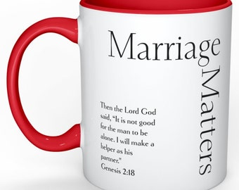 Marriage Matters MUG