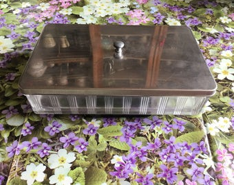 Large glass box by medical doctor Bath
