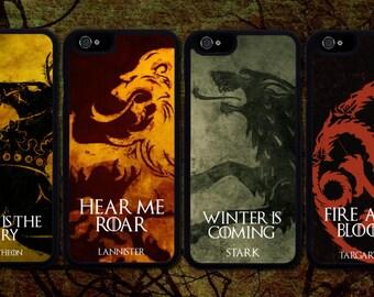 Game Of Thrones Houses Sigils Case Iphone 6 / 6s / 6 plus / 7 / 7 plus Phone case Plastic / Silicone Rubber