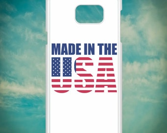 Made In The USA Proud American for Samsung Galaxy Note 3, Samsung Galaxy Note 4, Samsung Galaxy Note 5, Electronic Phone Case