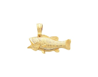 Bass Pendant offered in Various Metals