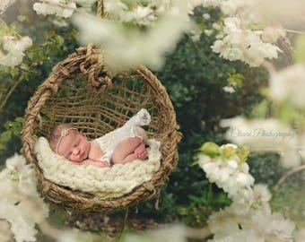 Newborn Ballerina dress. Newborn Photography  Prop.  Newborn Girl's dress.  Handmade clothes