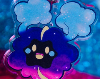 SALE: Nebby / Cosmog acrylic phone charm - Pokemon, Pocket Monsters