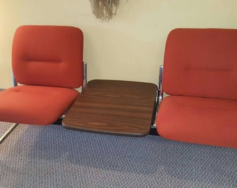 Mid century modern Steelcase Waiting room seating