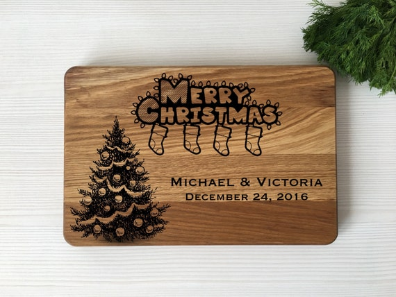 Christmas cutting board,Chrismas gift,Gift for couplle,Christmas tree,Christmas board,gift for perents,Gift for friends,Housewarming gift