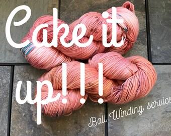 Cake it Up! *ball winding service*