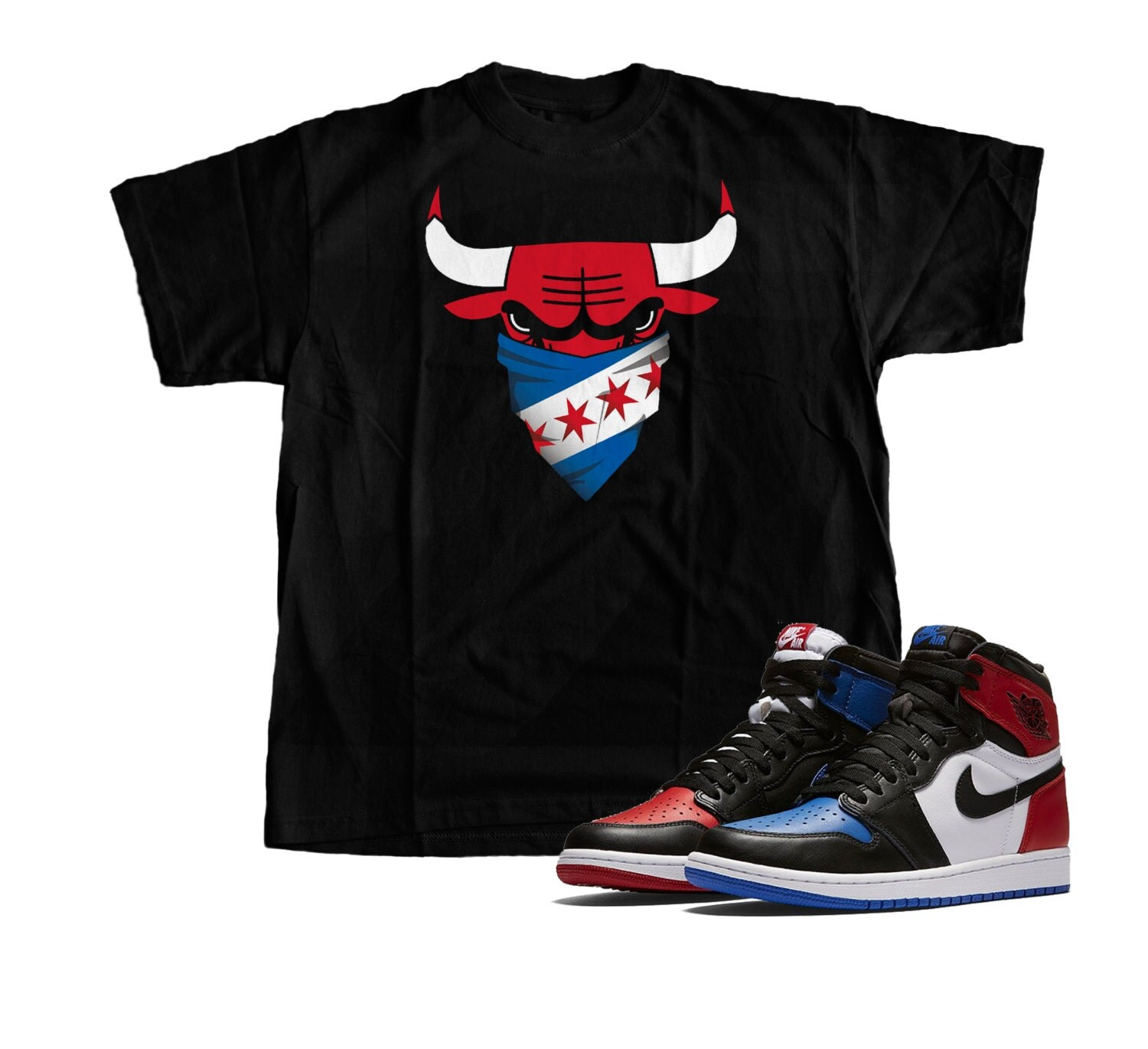 New,retro, Shirt, Match, Nikes, Air, Jordan, 1,