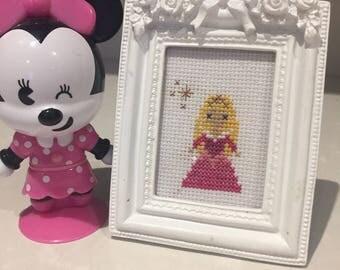 Sleeping Beauty cross stitch