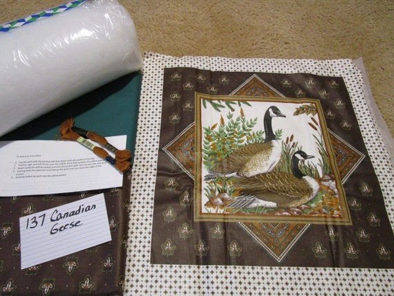 Canadian Geese - Pillow Quilt Kit