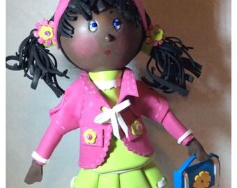 Sweet Molly Dark Skin Doll