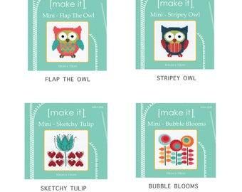 Make-It Mini Cross Stitch Kit