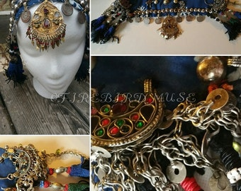 tribal head piece