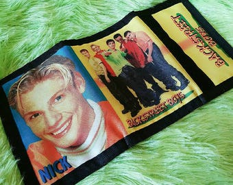 90s Backstreet Boys Vintage Wallet - Retro bsb, club kid, 90s kid