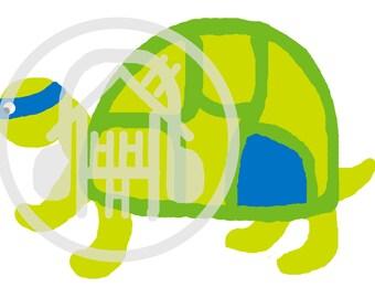 blue ninja turtle leonardo