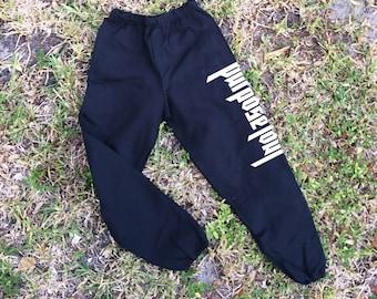 "Justin Bieber ""Purpose Tour"" Sweatpants - concert pants - j bieber pants - purpose tour pants"