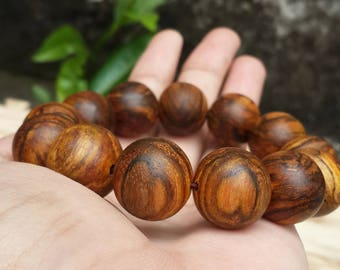 bracelet zebra agarwood 18 mm