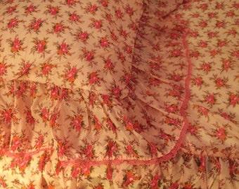 1960's Nylon Bed Spread