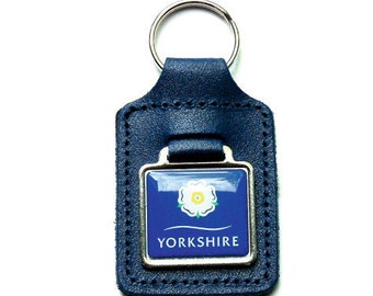 Yorkshire Leather Keyfob