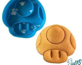 Mario Bros Mushroom Cookie Cutter