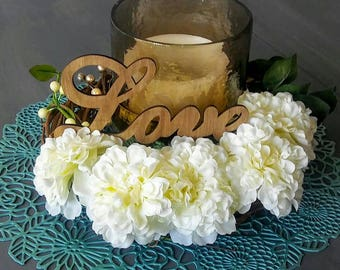 Wedding Wreath Centerpiece